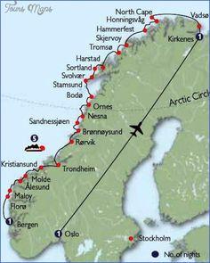cool Kirkenes Norway Map