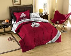 Ohio State Buckeyes Twin Bed in a Bag Set $89.99