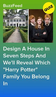 """Design A House In Seven Steps And We'll Reveal Which """"Harry Potter"""" Family You Belong In Harry Potter Houses Test, Harry Potter Friends, Harry Potter Jokes, Harry Potter Pictures, Harry Potter Fandom, Harry Potter Characters, Disney Characters, Harry Potter Quiz Buzzfeed, Jarry Potter"""