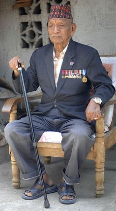Tul Bahadur Pun was awarded the Victoria Cross during WW2 while serving with the 6th Gurkha Rifles in Burma.