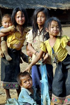 Lao Village Children