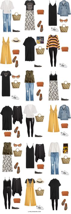 If you are wondering what to pack for a 10 Day New York City vacation, you can see some ideas here. What to Pack for New York City Packing Light List | What to pack for NYC l | What to Pack for summer | Packing Light | Packing List | Travel Light | Travel Wardrobe | Travel Capsule | Capsule |
