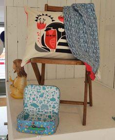 Chair + Decoration. By: Rarebird http://lokalinc.nl/