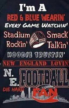 #PatsFanForLife this is all me...