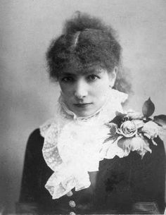 On this day in 1844, legendary stage and screen actress Sarah Bernhardt was born.