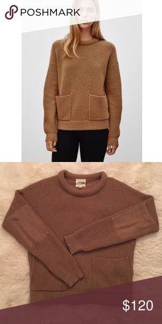 Wilfred Free Marija Sweater Beautiful soft wool sweater in excellent shape. Aritzia Sweaters Crew & Scoop Necks
