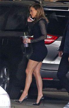 Jennifer Lopez wearing Christian Louboutin Degraspike Pumps http://api.shopstyle.com/action/apiVisitRetailer?id=486863436&pid=uid7729-3100527-84. #style #celebstyle