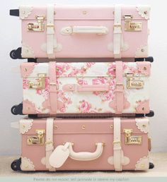 Fabulous Feminine Pink Luggage