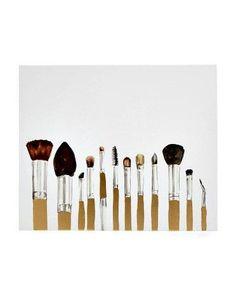 COLLEEN KARIS Makeup Brushes Canvas Print