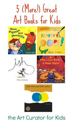 I'm back with more art children's book recommendations to add on to my previous list. All of these books I either own or have read before. I've used all of them in either my classroom or with my own kids. I highly recommend each book on this list! **This post contains affiliate links. Beautiful Oops! …