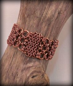 copper chainmaille weave https://www.etsy.com/ca/listing/215147043/copper-chainmaille-weave-bracelet?ref=shop_home_active_4