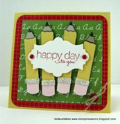 Stampin' Up! Card  by Linda Callahan at Stampin' Seasons