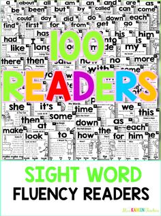 These sight word fluency readers make it easy to learn sight words in context. Sight Word Practice, Sight Word Games, Sight Word Activities, Reading Activities, Preschool Activities, 2nd Grade Reading, Kindergarten Reading, Teaching Reading, Guided Reading