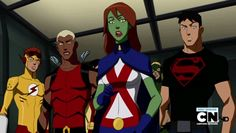 Love Kid Flash's face :P and Robin, oh goodness you're too cute!
