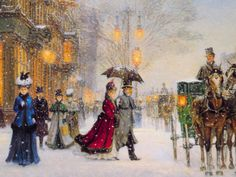 Alan Maley - 'A Gracious Era' I did the cross-stitch version of this image and it is so beautiful!