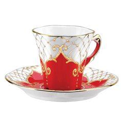 KAVUK COFFEE CUP WITH PLATE S A KABARTMA 3860