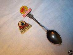 15YR Walt Disney World Enamel PIN Mrs Woodpecker SPOON   eBay
