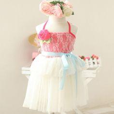 "Stunning ""dancing nancies"" dress"