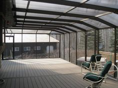 #Polycarbonate #roof is also called Polycarbonate Twin Wall.