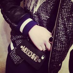 Moschino phone bag