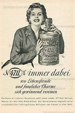 4711 Köllnisch Wasser IMMER DABEI ... - Original Anzeige von 1955