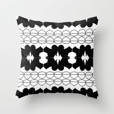 Squirrel, Nut, Repeat Throw Pillow by jessadee77 - $20.00