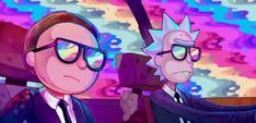 Rick and Morty x Run the Jewels