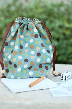 homemade farkle game bag for super saturday