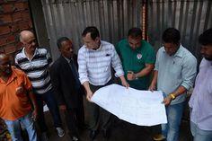 Reforma dos banheiros do Centro de Abastecimento recebe ordem de serviço