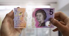 Nuevo billete de 5 dólares, el dinero del futuro  #dinero #billete #dólares #seguridad #mundo #banco #Australia #futuro #videos #actualidad #viralvideos #viralvideoscity #noticia