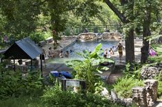 Krause Springs in Spicewood Texas. One of our favorite places to camp.