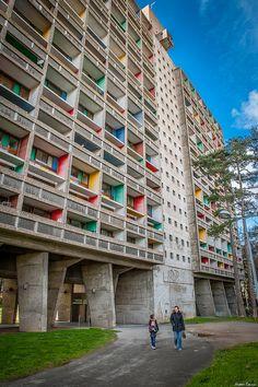 Maison Radieuse - le Corbusier, Rezé (44)