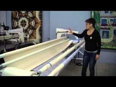 Video 2 Leadergrips or Red Snappers - Loading your quilt on a longarm quilting machine - YouTube