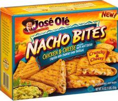 Jose Ole Nacho Bites: Chicken & Cheese. :)