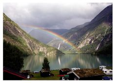 This photo was taken in June 2006 in Skjolden, Sogn og Fjordane Fylke, NO. By Maxxpics