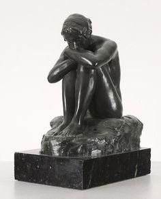 Edgar Bertram MacKennal, Sapho, c1909.