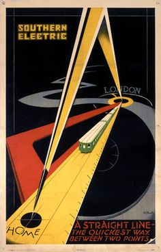 Southern Railway poster.