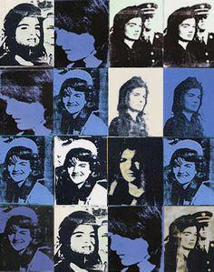 Jackie Kennedy by Warhol -   http://classiquecom.canalblog.com/    http://twitter.com/#!/classiquecom