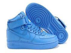 wholesale dealer bc6d3 c168d Bleu Femme Training Nike Air Force 1 Mid Pas Cher Air Force Shoes, Air  Jordan