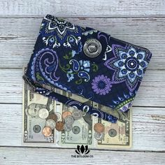 The Bella Taylor Cash System Wallet is thoughtfully designed to keep your cash envelopes wallet together and organized. Say goodbye to messy paper envelopes and hello to an organized all-in-one wallet system. Exclusively at The BitLoom Co.