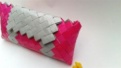 origami bridesmaid clutch bagcandy wrapper by colorfulconcept, $30.00