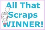 ALL THAT SCRAPS WEDNESDAY CHALLENGE!  Every other Wednesday Tracy will post a new challenge. Post your entry on our blog with the link by Tuesday at 10:00pm est to be entered in our giveaway. Please enter one time only. Your project must include a stamp sold in All That Scraps store No back linking to previous projects. Only current projects will be accepted.