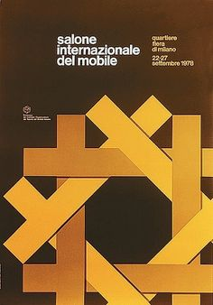 salone poster 1978, Alberto Longhi. #poster
