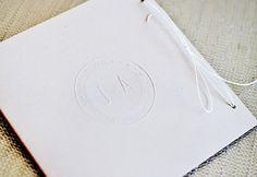Oh So Beautiful Paper: Jamie + Aaron's Modern Romantic Destination Wedding Invitations