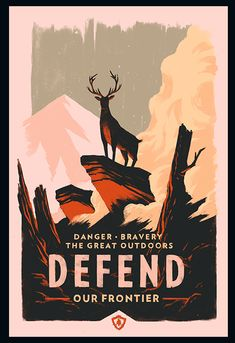 Olly Moss Campo Santo Firewatch Posters