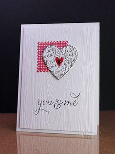Valentine by Nerina's Cards, via Flickr