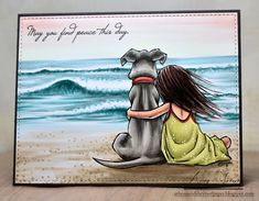Mo's Digital Pencil- Thinking of You Dog Best Friend Quotes, Dog Quotes, I Love Dogs, Big Dogs, Cute Dogs, Pet Loss Grief, Dog Cards, Mundo Animal, Penny Black