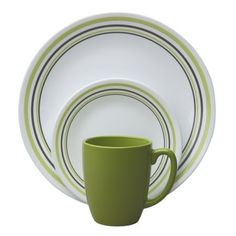 Corelle®Livingware™ Garden Sketch Bands 16-pc Dinnerware Set  Corelle- Garden Sketch Bands 16-pc dinnerware set   $31.99  Was   $39.99  Cute grey/green bands. Simple for everyday.