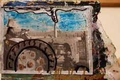 Allen Vandever; Chicago; cotemporary; new; yoga; nude; epoxy; artist; abstrac; new; collage; trackter