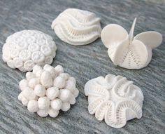 composite coral cabs | unglazed porcelain | Lisa Stevens | Flickr
